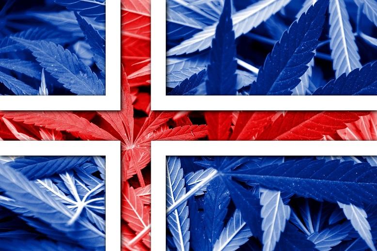 Le chanvre et la CDB à la première page du plus grand journal islandais